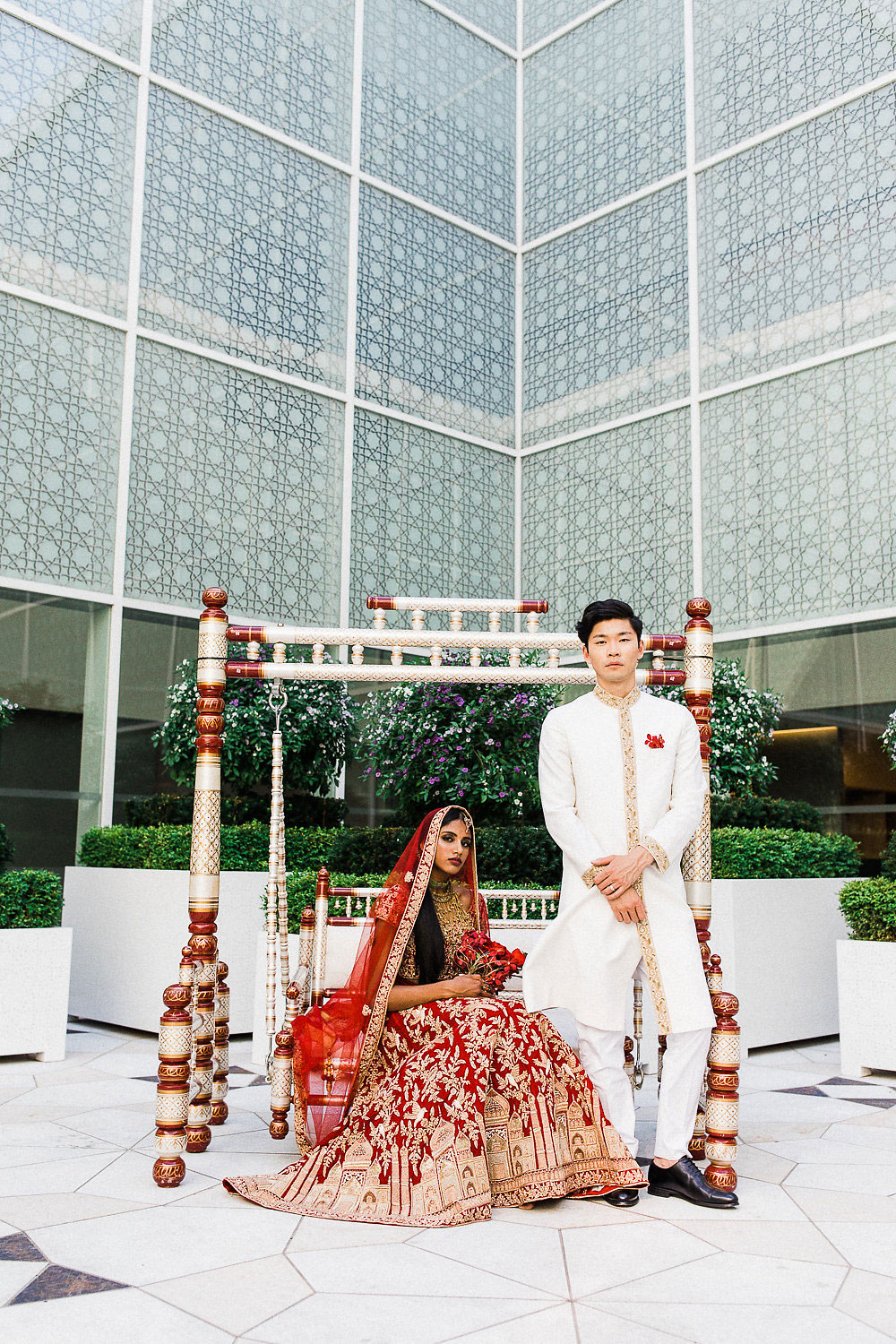 cross cultural wedding toronto - asian fusion - indian and chinese wedding