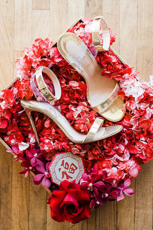 shoe shot - toronto weddings