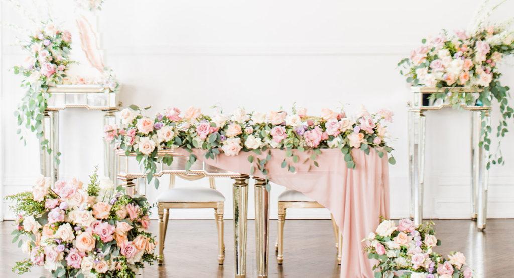 Pastel Wedding Design Cocktail Event Guide