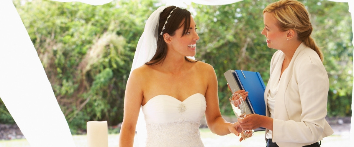 1. Hiring a wedding consultant or a coordinator - easy wedding planning tips