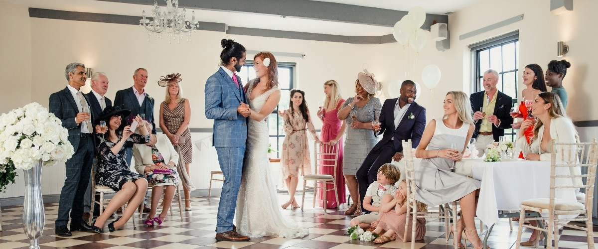 How To Plan a Micro Wedding - consider your guests