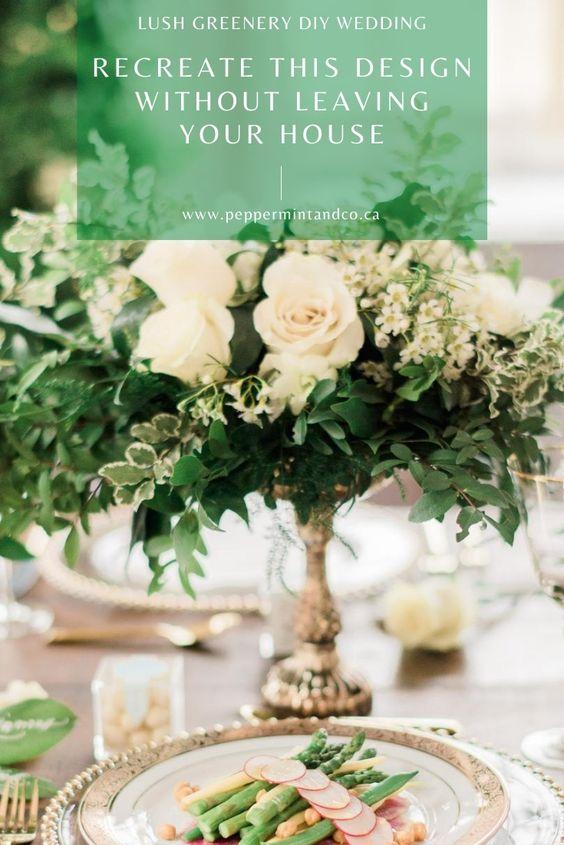 Lush Greenery Wedding Design Guide - 234