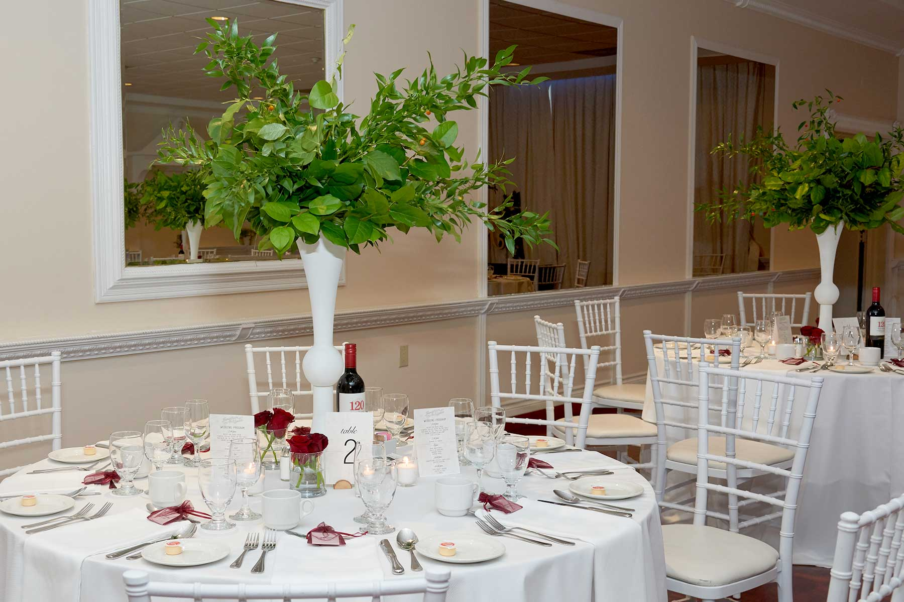 Burgundy and Greenery Wedding Design Guide
