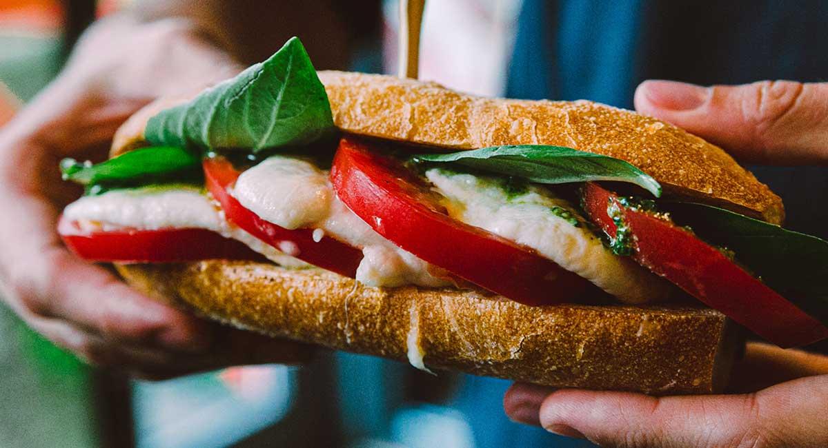 Cocktail sandwich station - DIY Wedding
