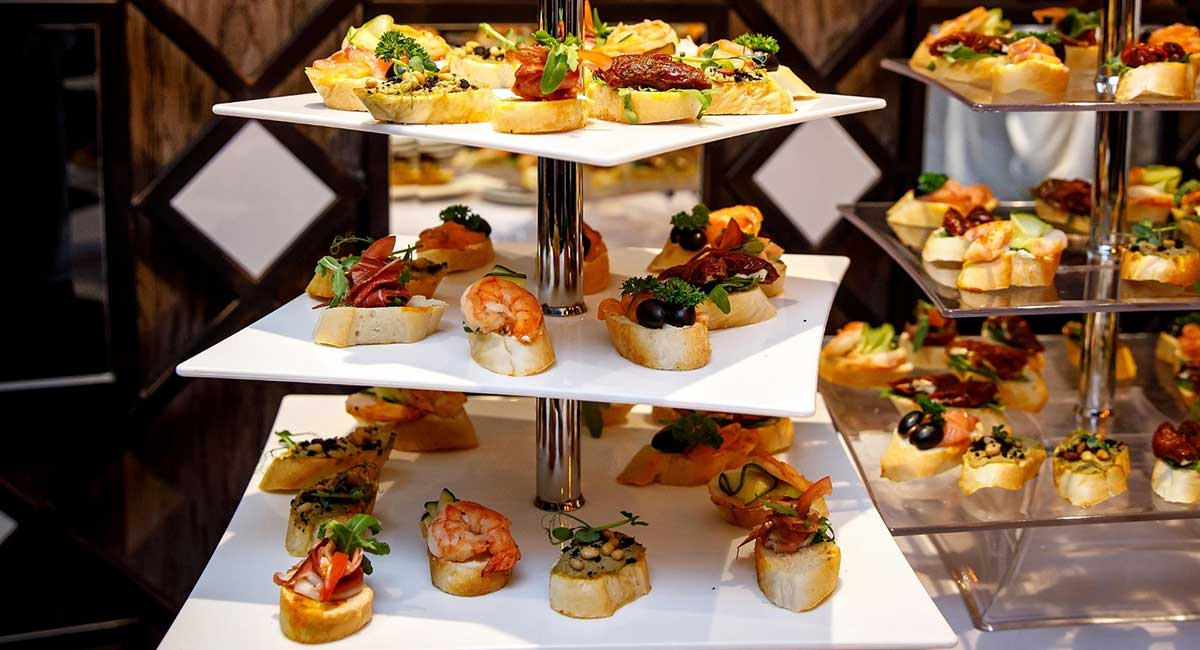 Cocktail sandwich station - 2 - DIY wedding