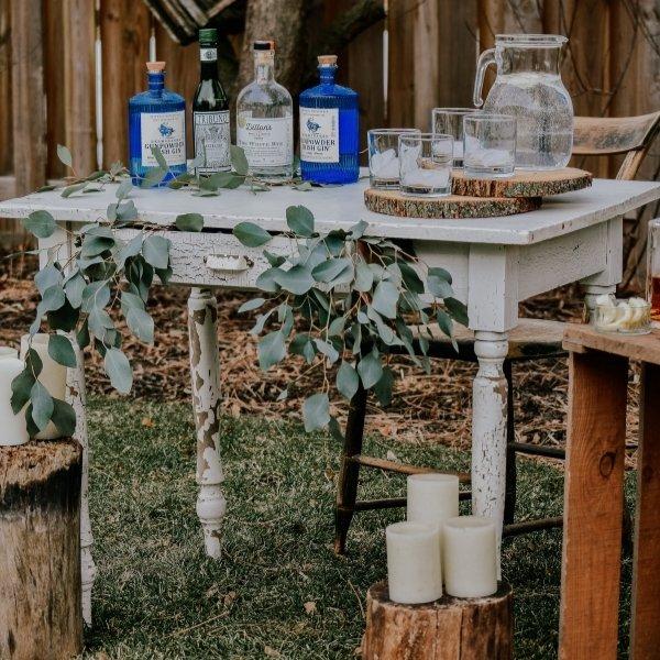 Is a Backyard Wedding Cheap? - bar and alcohol