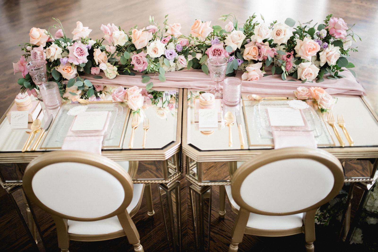 Pastel Wedding Design Cocktail Event Guide -2