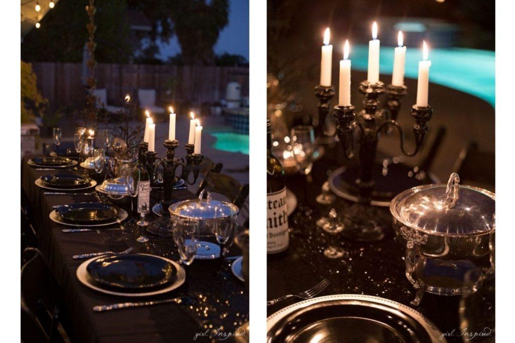 Easy DIY halloween Wedding Decor 2