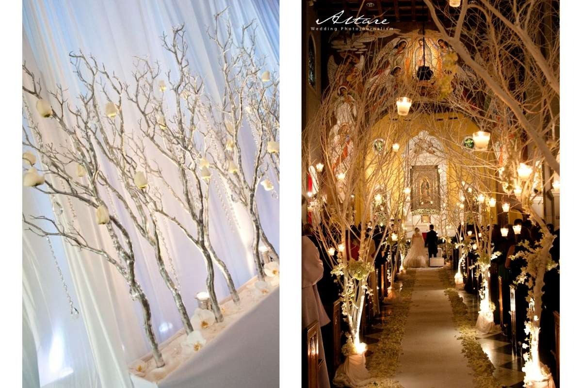 Wedding Entrance Decor (also for your aisle!) DUPES: TOP 5 3