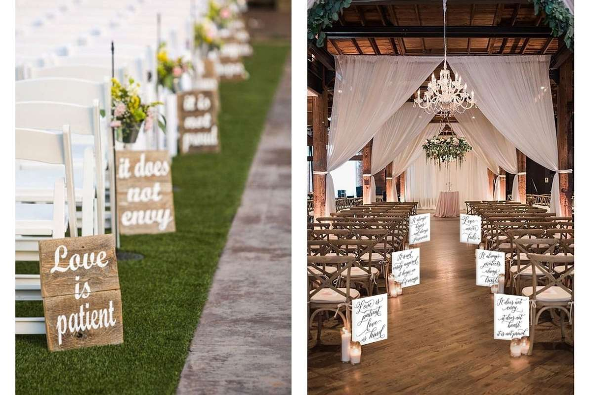 aisle decor dupes