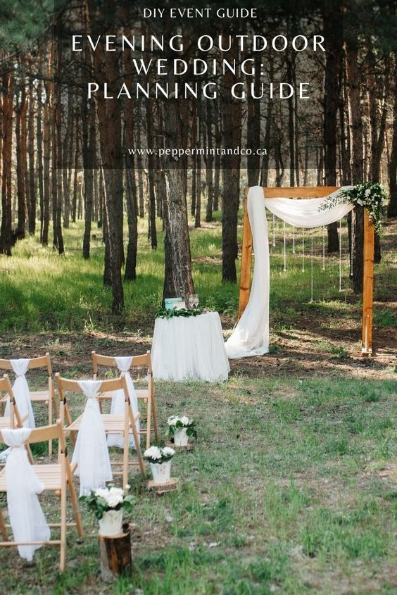 Evening Outdoor Wedding: Do's and Don'ts -545