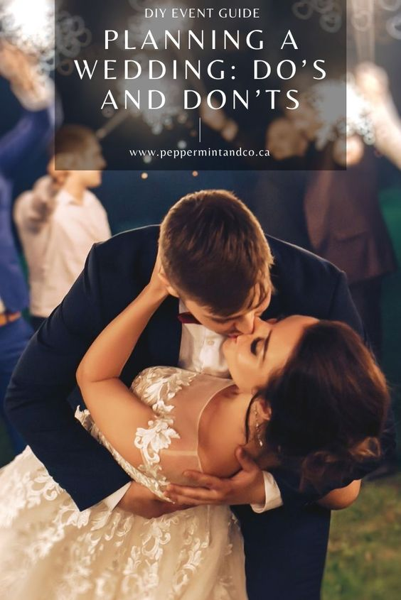 Planning a wedding: Do's and Don'ts - 23