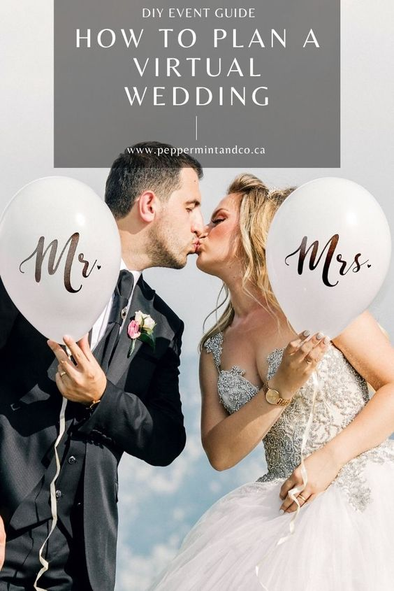 Planning a Virtual Wedding in Your Own Home or a Rented Space - 345