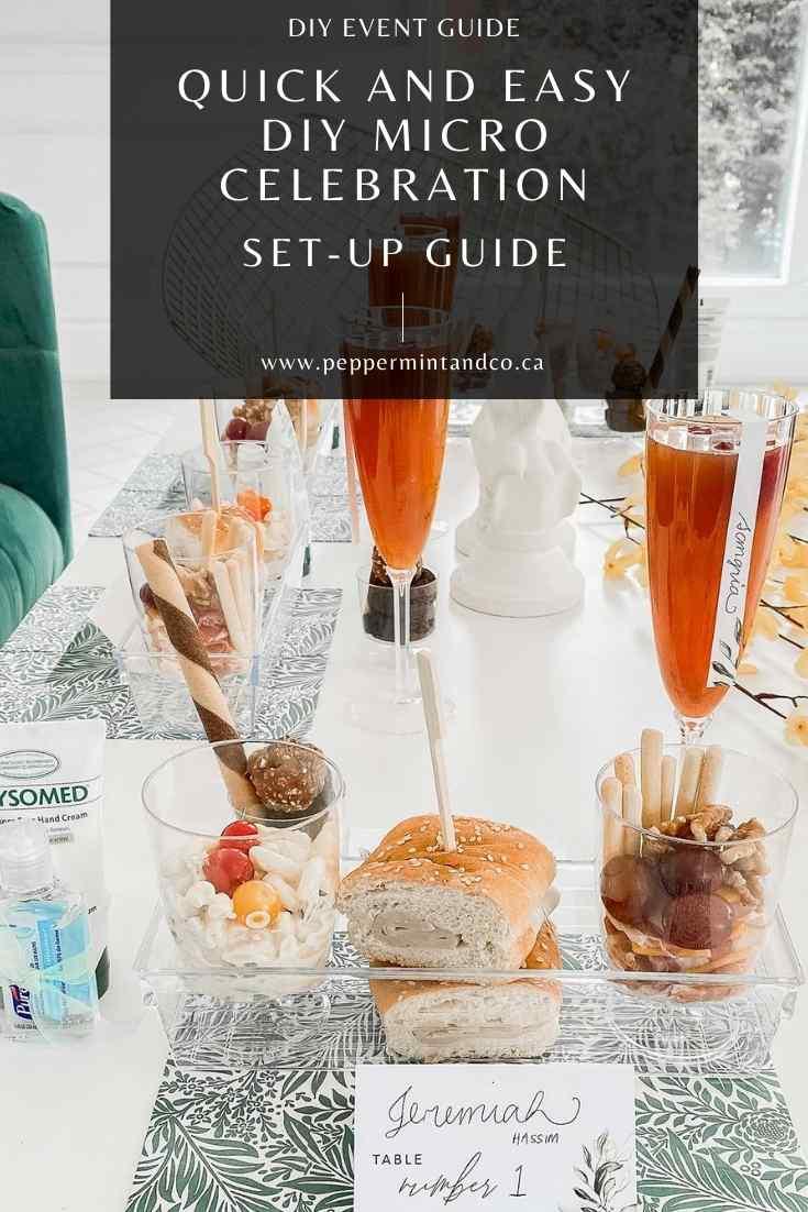 DIY Micro Wedding Celebration: Set-up & Design Guide