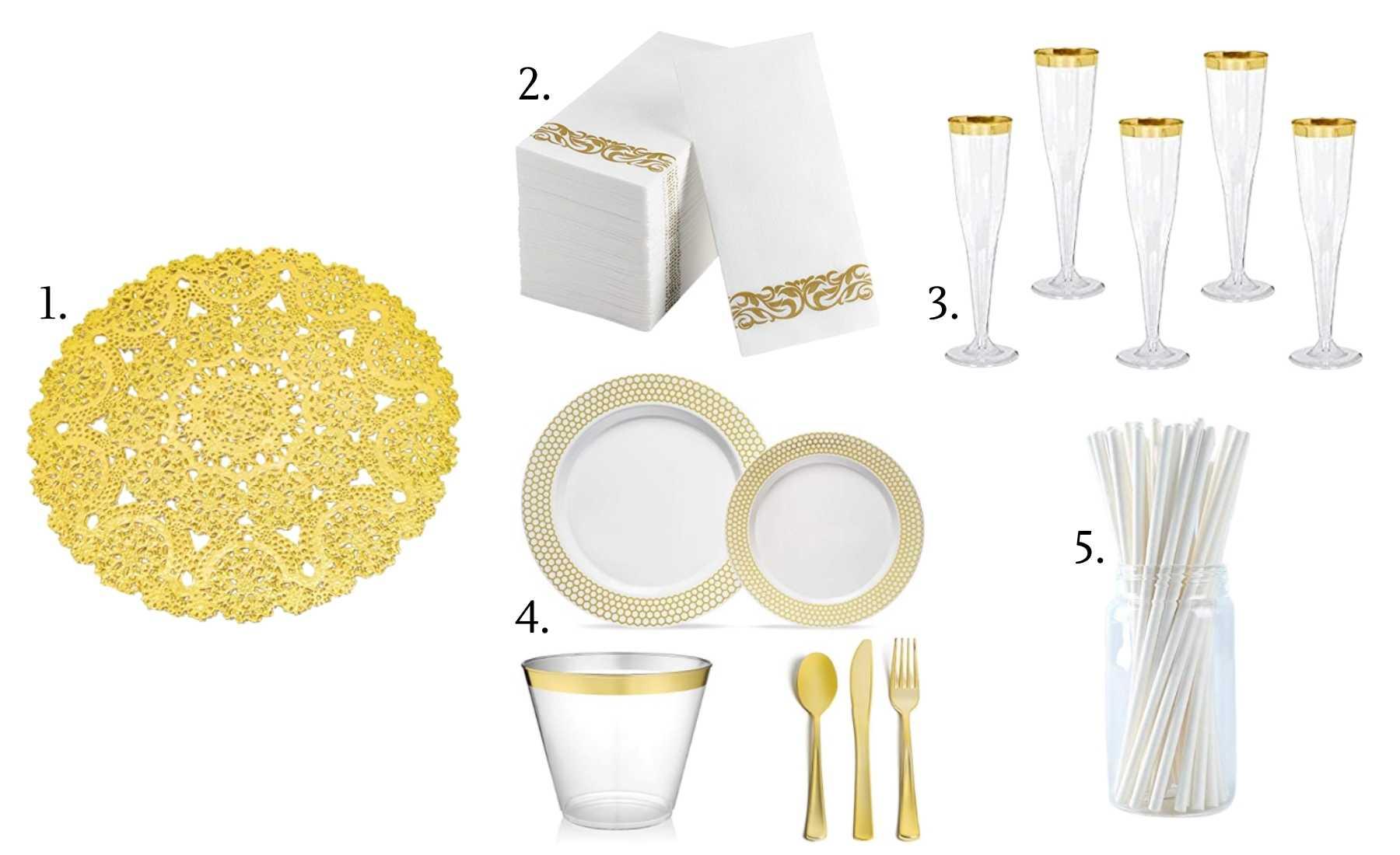 flatware - diy brunch wedding how to guide