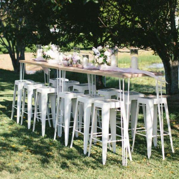 Wedding Reception Seating Configuration Ideas - bar high tops