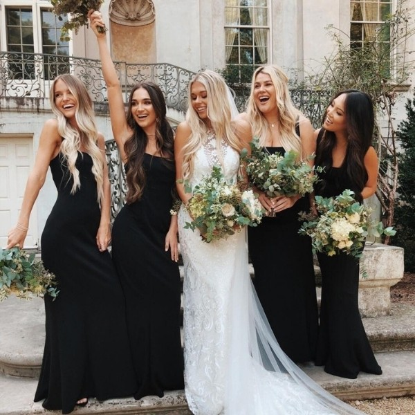 black and white Easy Wedding Color Combos: Top 14