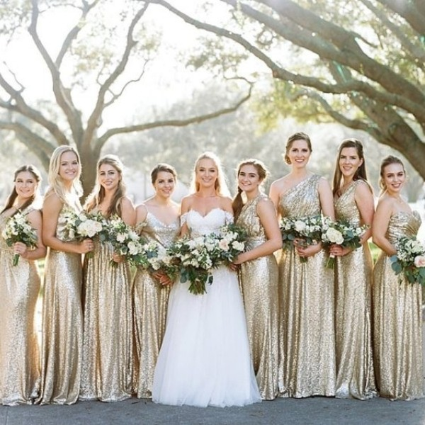 sequins Easy Wedding Color Combos: Top 14