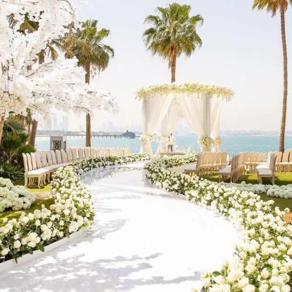 Wedding Ceremony Seating Configuration Ideas - runway
