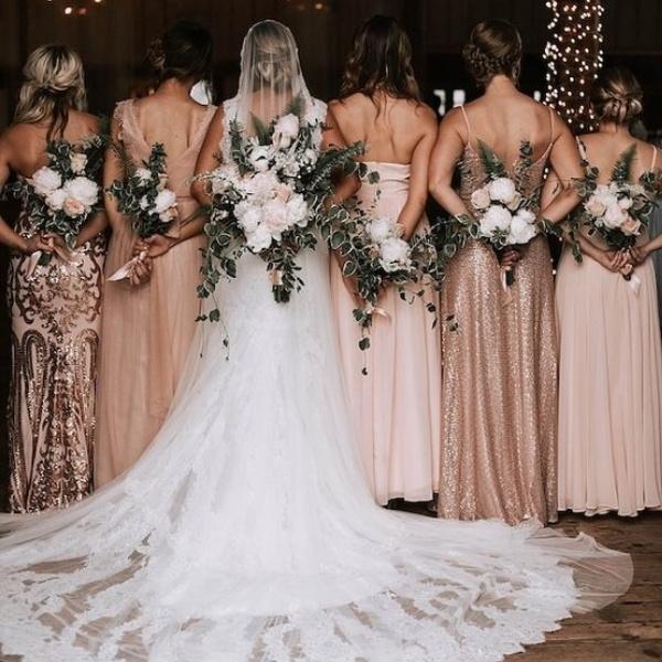 Easy Wedding Color Combos: Top 14 rose gold
