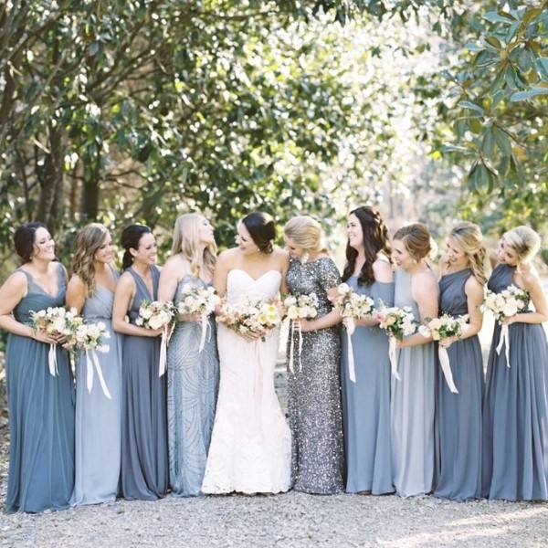 Easy Wedding Color Combos: Top 14 soft grey