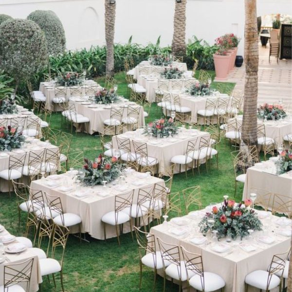 Wedding Reception Seating Configuration Ideas - square seating