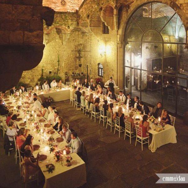 Wedding Reception Seating Configuration Ideas - u shaped