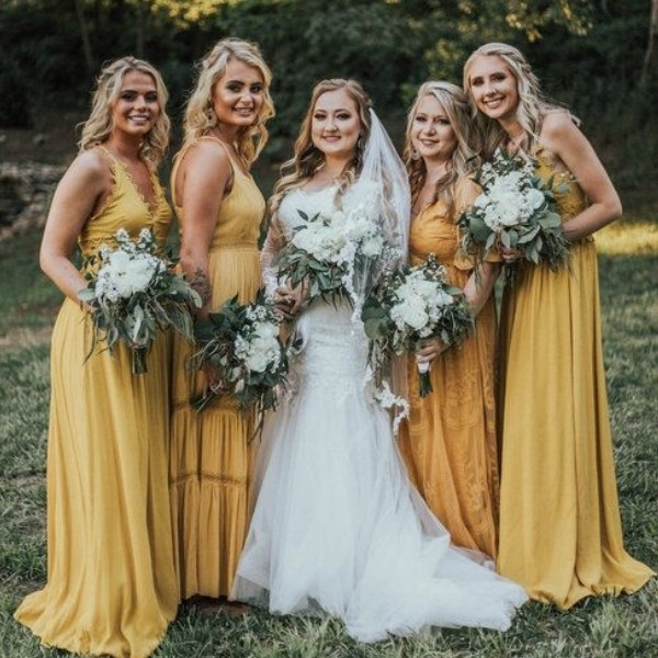 Easy Wedding Color Combos: Top 14 yellow