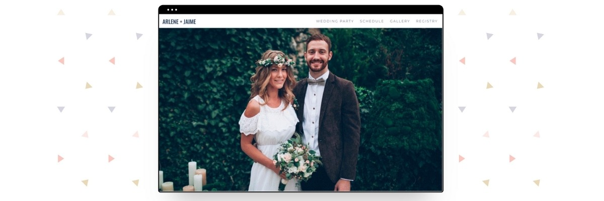 What to put on your wedding  website 1
