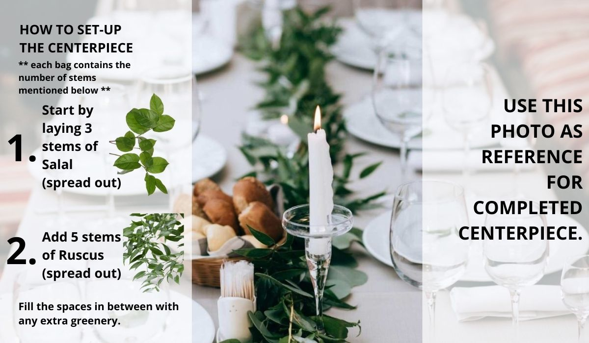How To: Greenery Wedding Centerpiece: Step by step guide