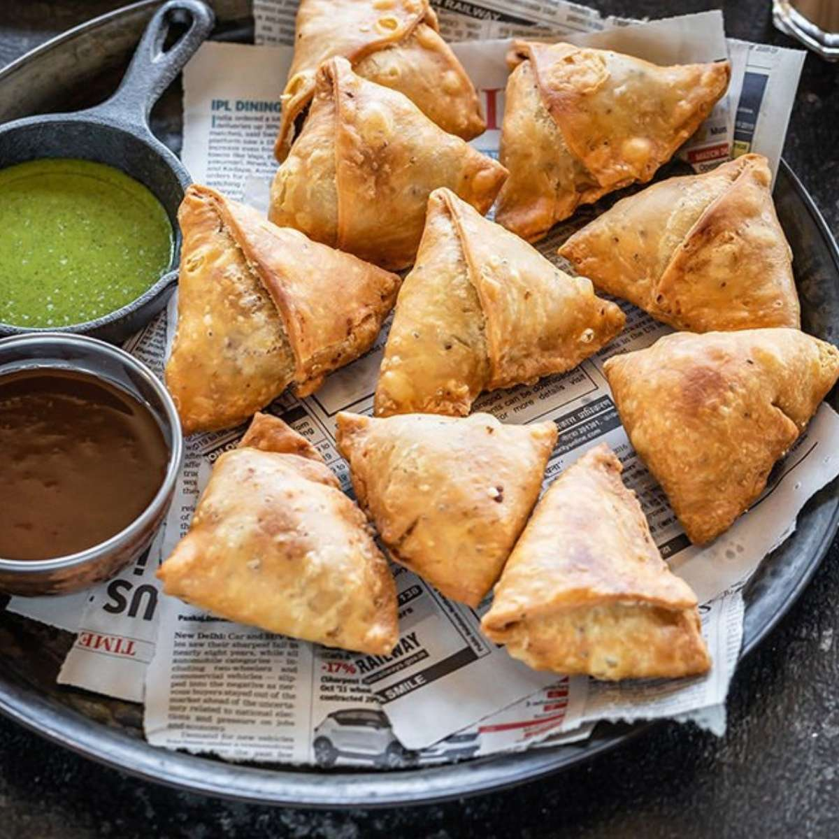 20. Samosas - DIY Cocktail Micro Wedding: Top 20 Easy Appetizers 2