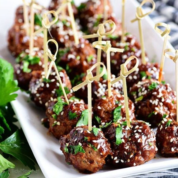 12. Sweet and Tangy Meatballs - DIY Cocktail Micro Wedding: Top 20 Easy Appetizers + HACKS. Part 2 of 2.