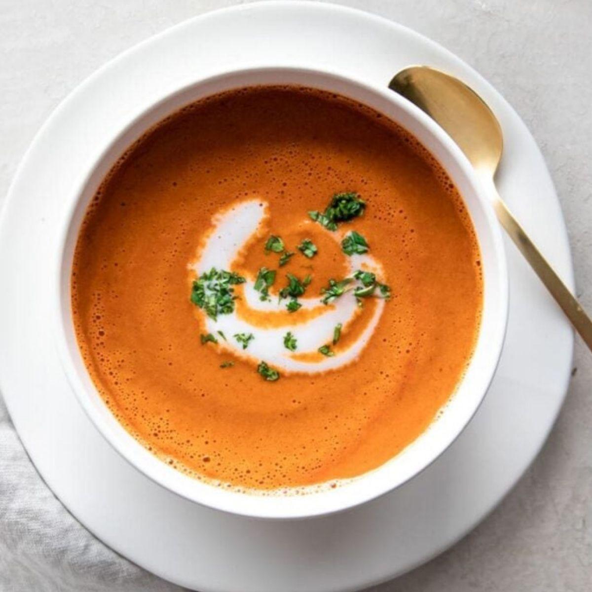 8. Tomato Soup Shots