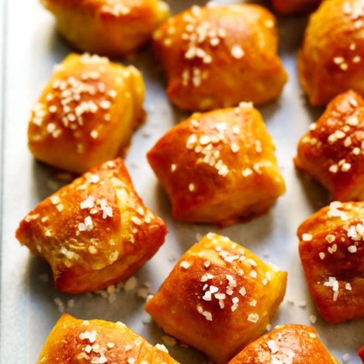 6. Buttery soft pretzel bites