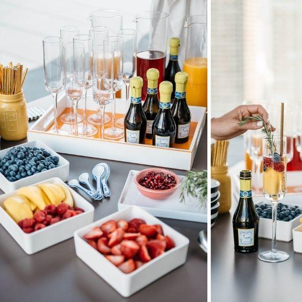 At-home Bachelorette Ideas: Top 10 - champagne bar