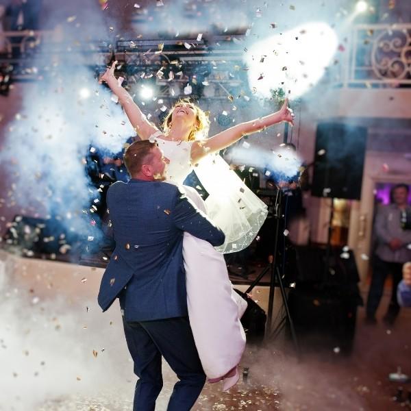 Cocktail Party Wedding Entertainment - dj dance party