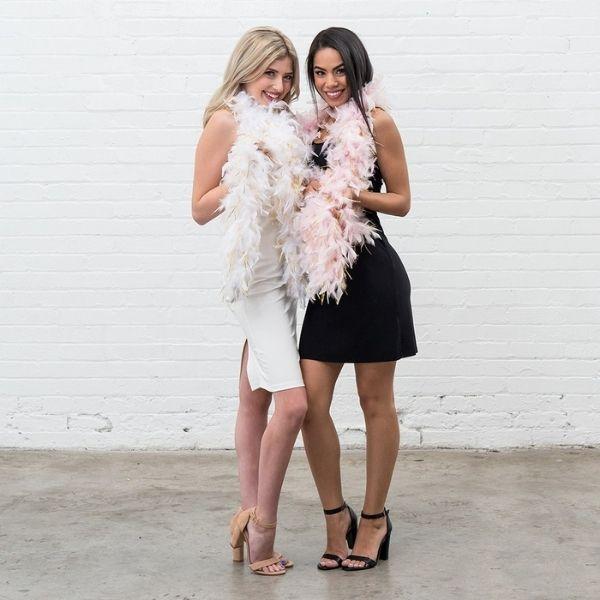 Bachelorette Weekend Essentials - feather boa
