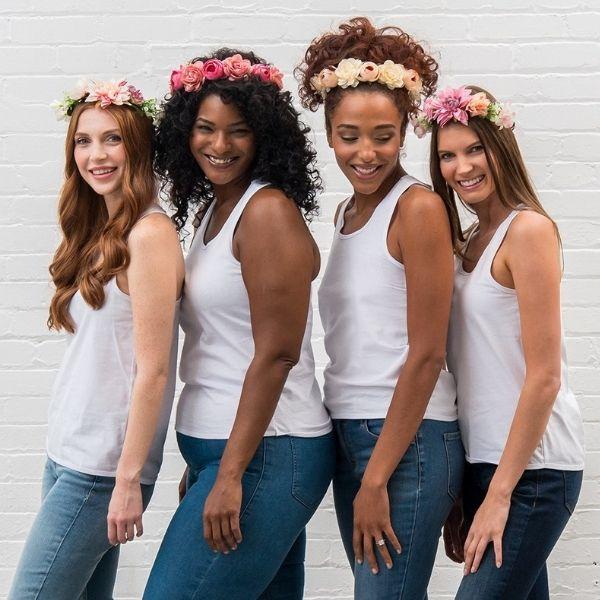 Bachelorette Weekend Essentials- flower crowns