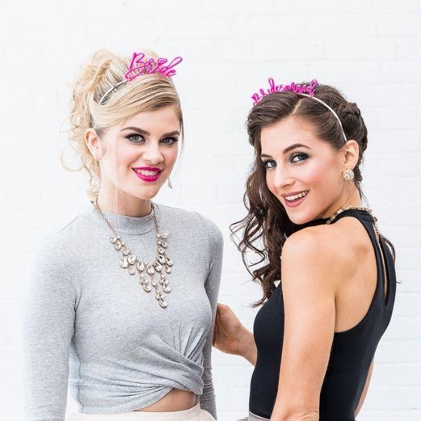 Bachelorette Weekend Essentials - cute headbands