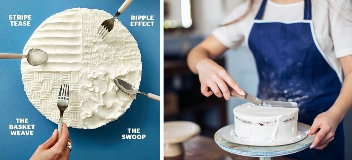 DIY Make your own Wedding Cake Hacks and Tips - icing decoration