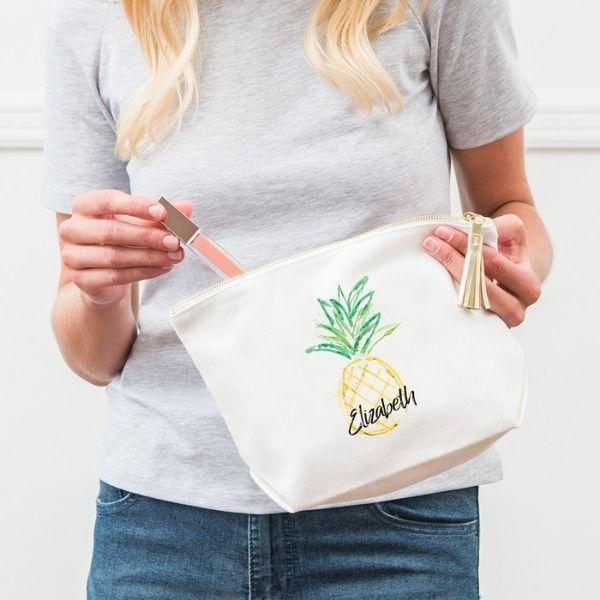 Bachelorette Weekend Essentials - makeup bags