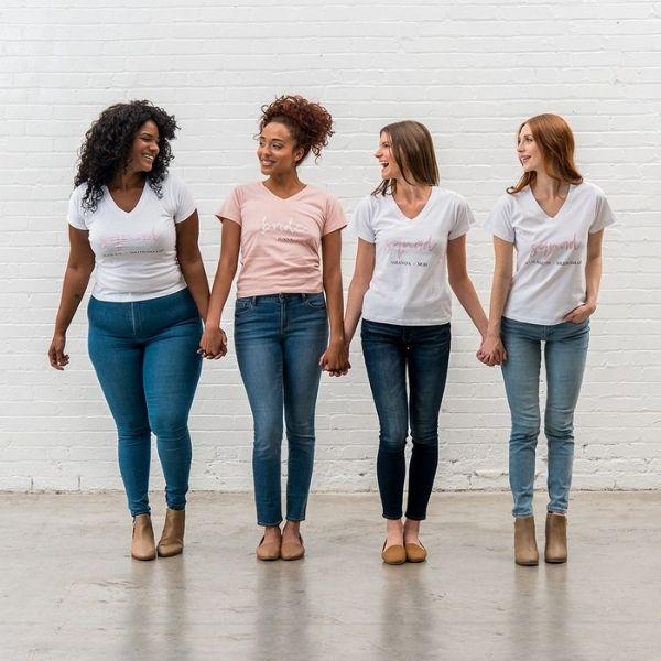 Bachelorette Weekend Essentials - matching shirts