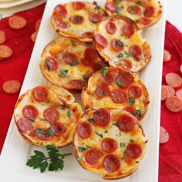 14. Easy Mini Tortilla Pizzas