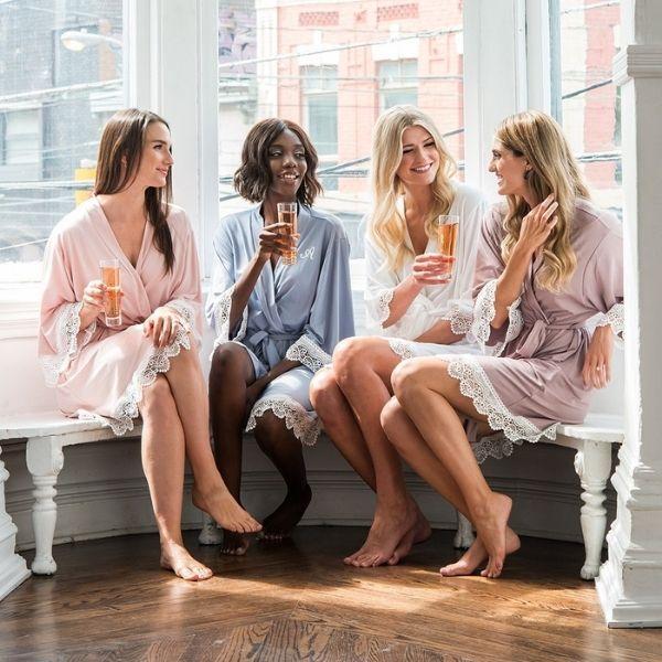Bachelorette Weekend Essentials - matching robes