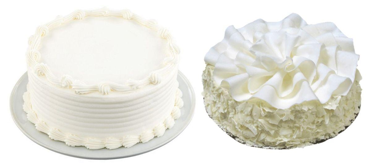 DIY Make your own Wedding Cake Hacks and Tips - grocery cake regular vanilla