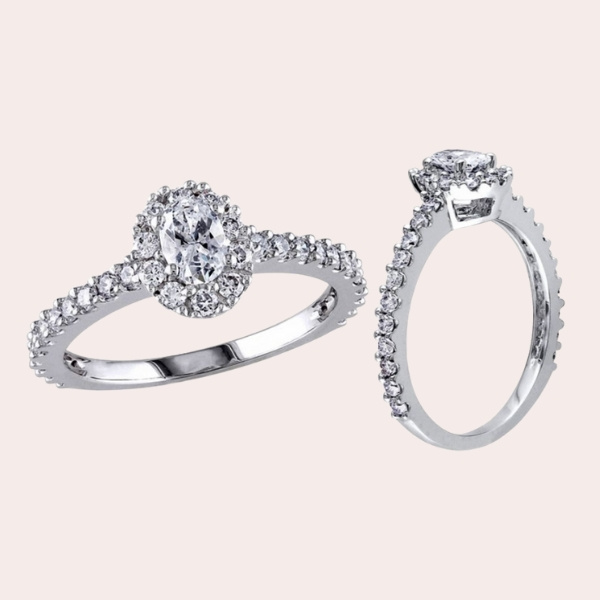 Top 5 Classic & Timeless Engagement Ring Guide - oval diamond frame