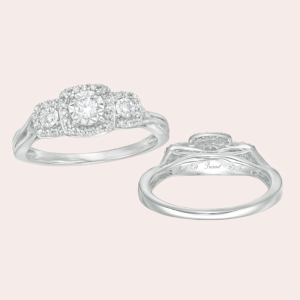 Top 5 Classic & Timeless Engagement Ring Guide - cushion frame split shank
