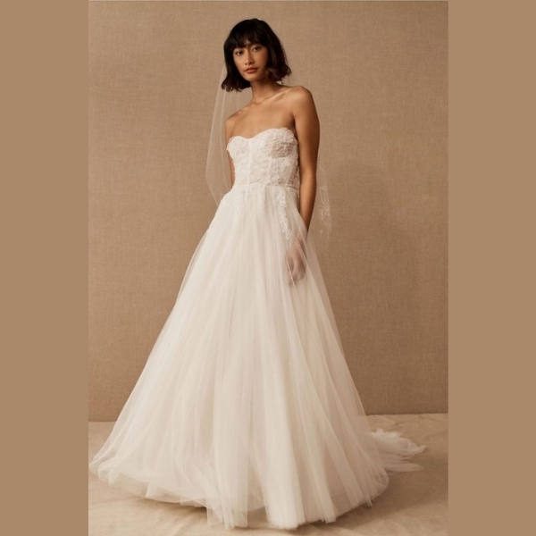 1. Jenny by Jenny Yoo Jessilyn Gown - Chic and Casual Wedding Dresses: Top 5