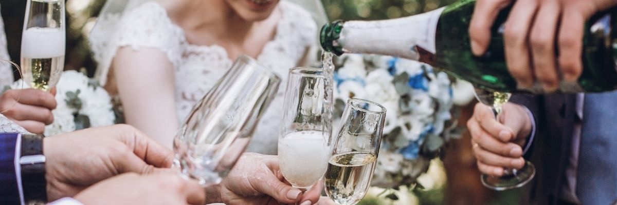 How to Plan an at-Home Wedding - cheers
