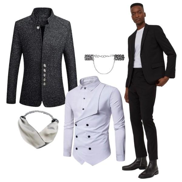 Bridgerton Inspired Wedding Style - the duke fashion